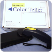 Color teller for the visually impaired